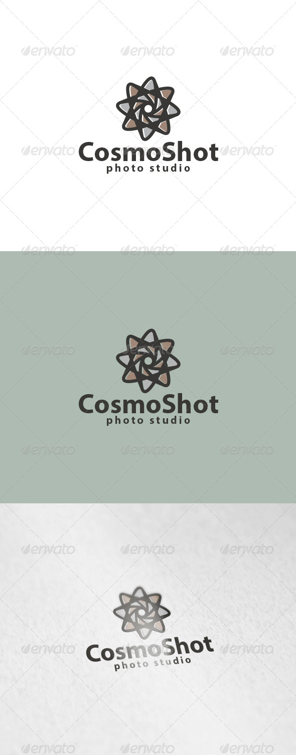 GraphicRiver Cosmo Shot Logo 6053393