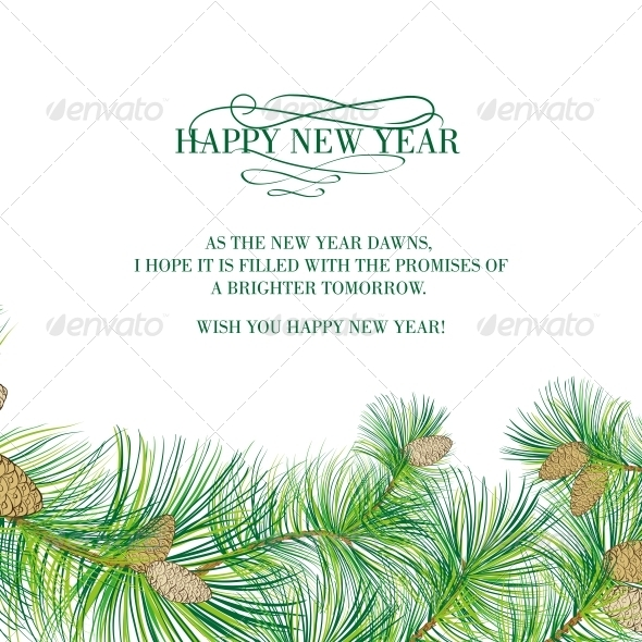 GraphicRiver Christmas Spruce 6054848