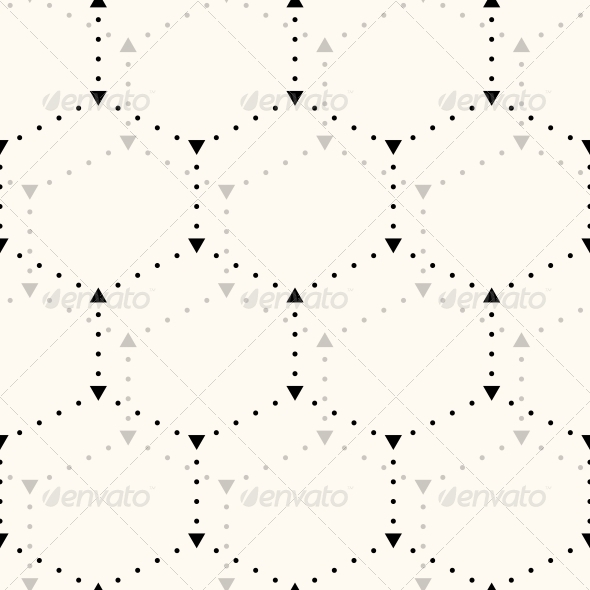 GraphicRiver Seamless Hexagon Pattern 6055117