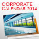 Corporate Wall Calendar 2014 - GraphicRiver Item for Sale