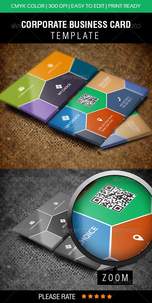 GraphicRiver E-Technology Business Card 6020187