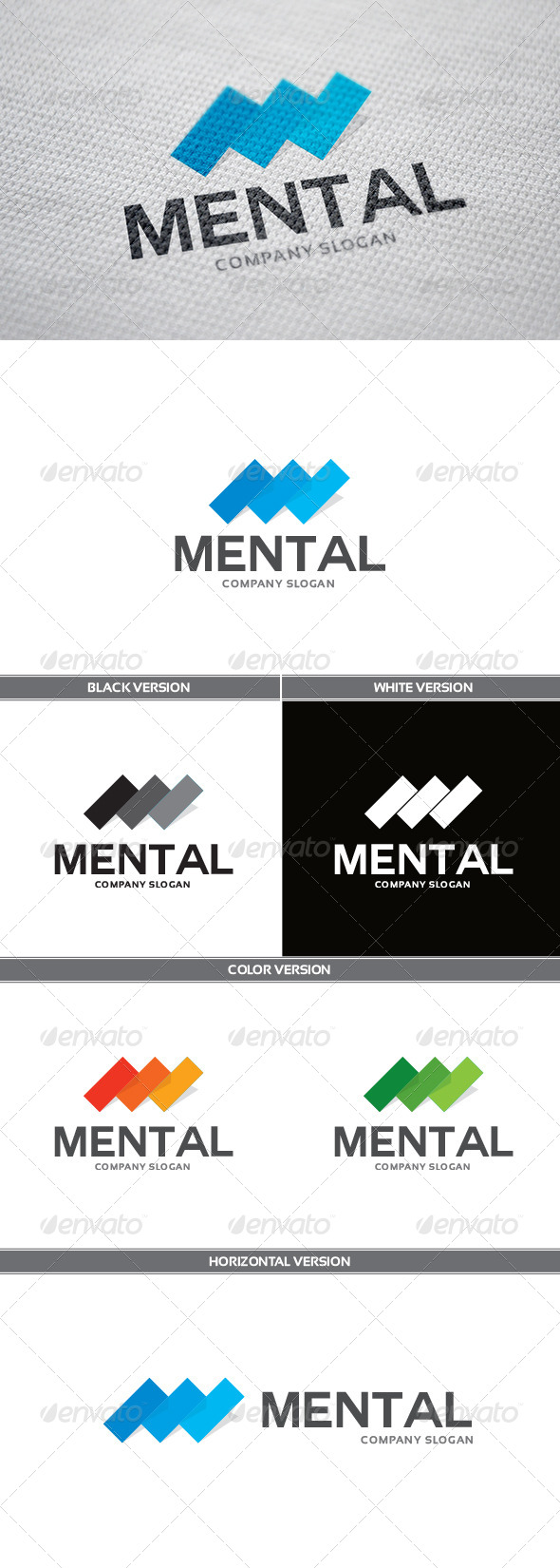 GraphicRiver Mental Logo 6056729