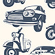 Set of Car & Motorcycle - GraphicRiver Item for Sale