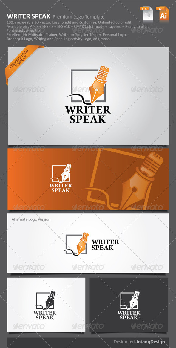 GraphicRiver Pen Logo 001 6057058