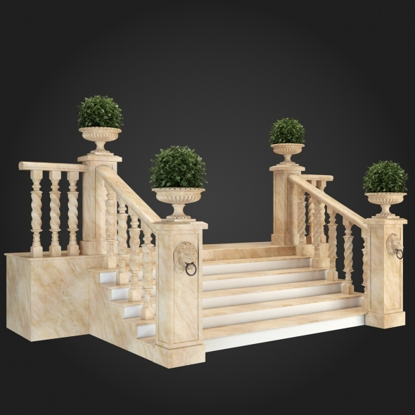 3DOcean Staircase 012 6057436