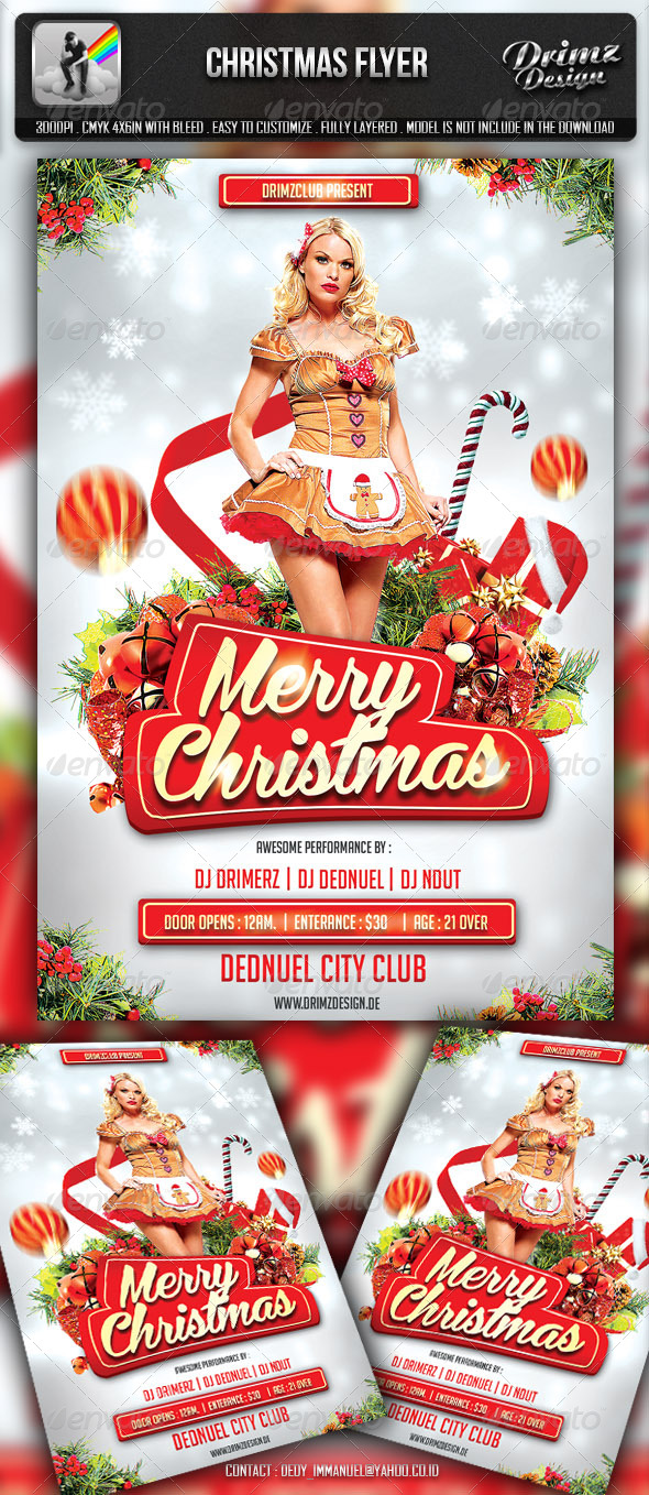 GraphicRiver Christmas Flyer 6057467