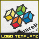 Square Connection - Logo Template - GraphicRiver Item for Sale