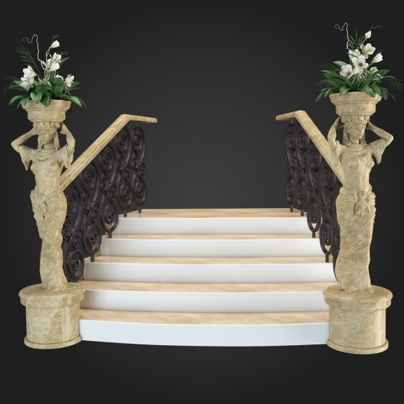 3DOcean Staircase 016 6057696