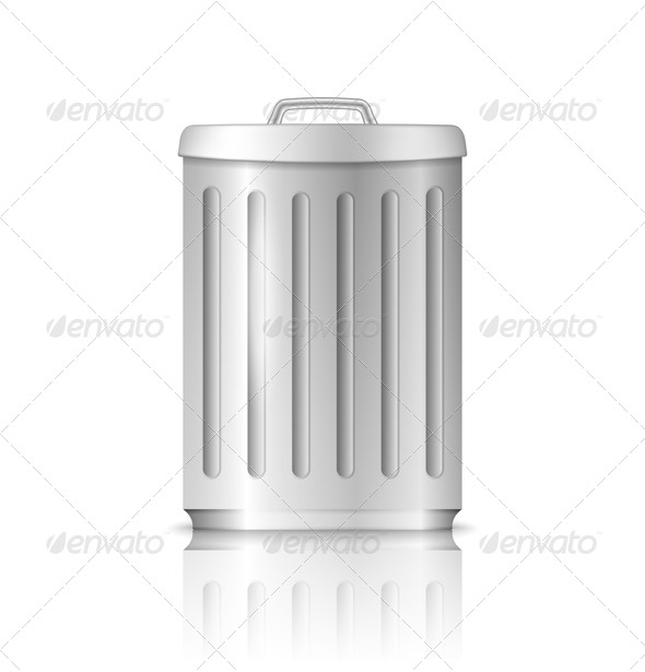 GraphicRiver Trash Can 6057802