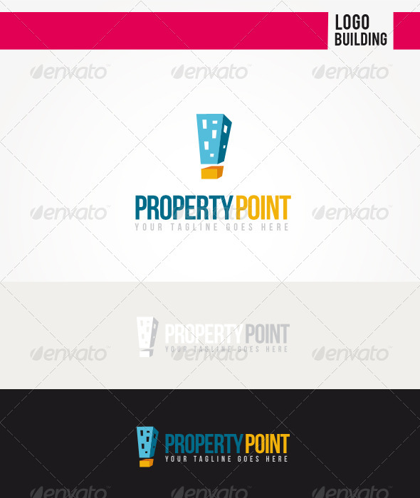 GraphicRiver Property Point Logo 5986795