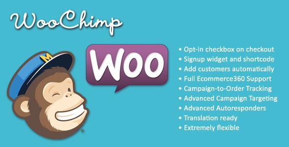 CodeCanyon WooChimp WooCommerce MailChimp Integration 6044286