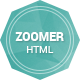 Zoomer - Onepage Responsive HTML5 Template - ThemeForest Item for Sale