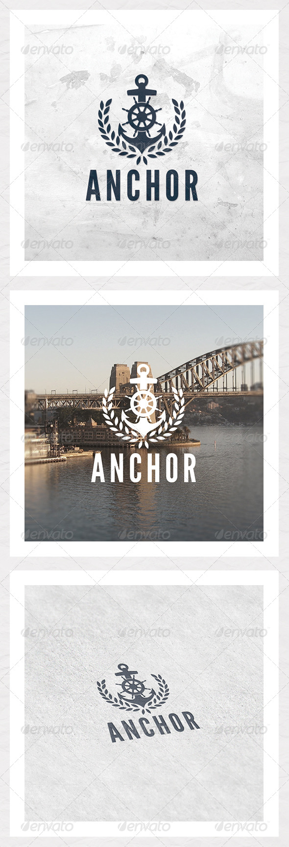 GraphicRiver Anchor Logo Template 6059075