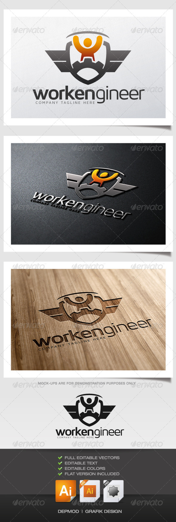 GraphicRiver Workengineer Logo 6059134