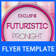 Futuristic Flyer Template - GraphicRiver Item for Sale