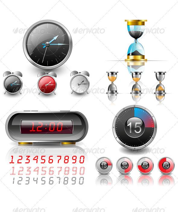 GraphicRiver Clocks 6060533