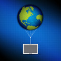 global cloud computing concept - PhotoDune Item for Sale
