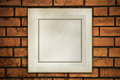 old frame on fracture brick - PhotoDune Item for Sale
