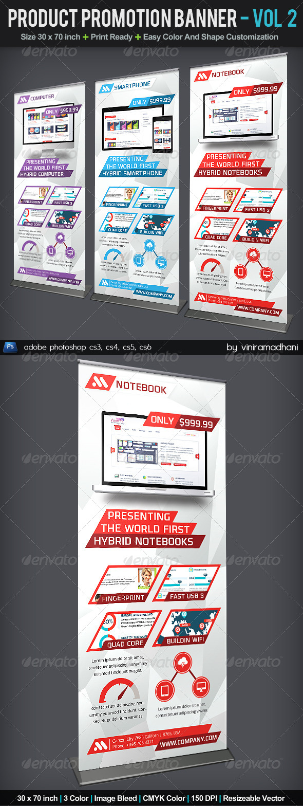 GraphicRiver Product Promotion Banner Volume 2 6061983