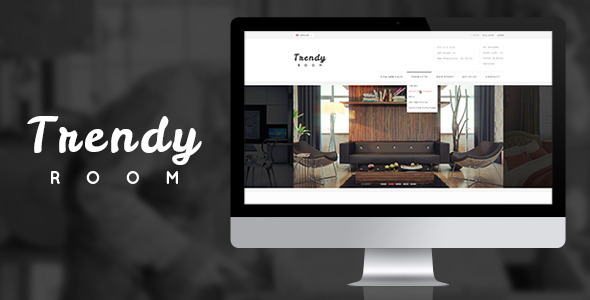 Trendy ROOM - Elite Shopping PSD Template - Shopping Retail