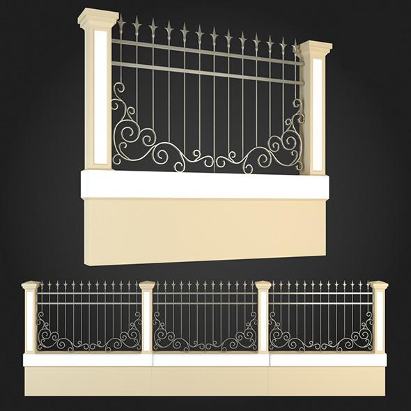 3DOcean Fence 001 6063955