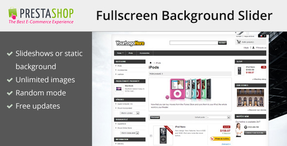 CodeCanyon Background slider for Prestashop 6056702