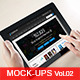 16 Displays Mock-Ups | Tablet - GraphicRiver Item for Sale
