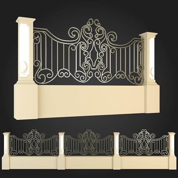 3DOcean Fence 006 6064051