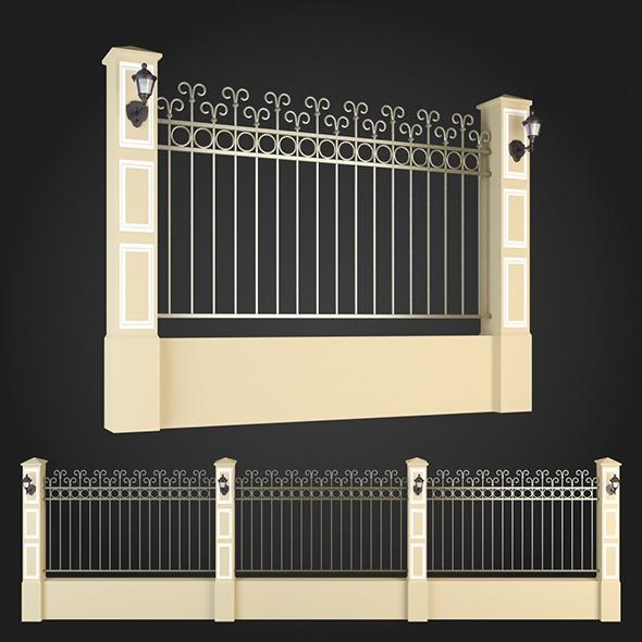 3DOcean Fence 007 6064056