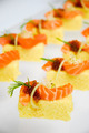 Sushi cake with salmon and red caviar - PhotoDune Item for Sale