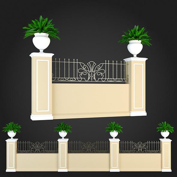 3DOcean Fence 016 6064418