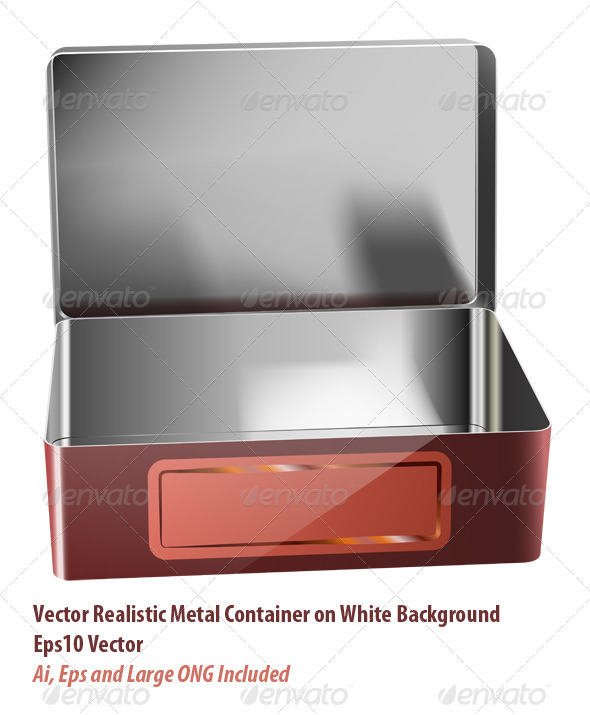 GraphicRiver Metal Container 6064444