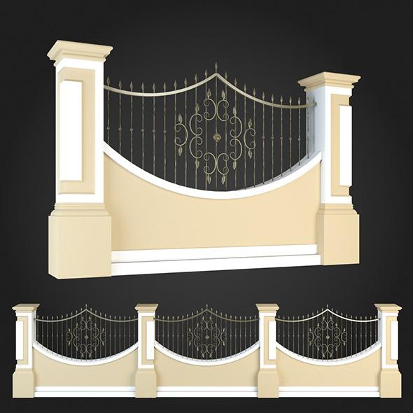 3DOcean Fence 019 6064547