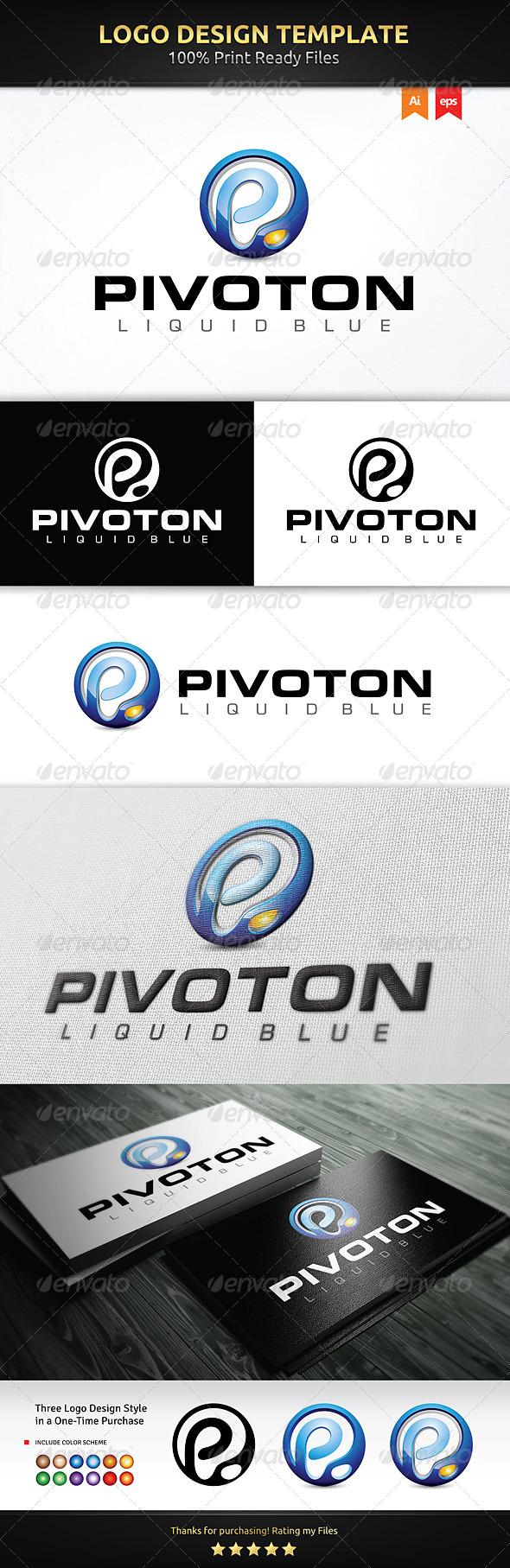 GraphicRiver Pivoton Logo 5966217