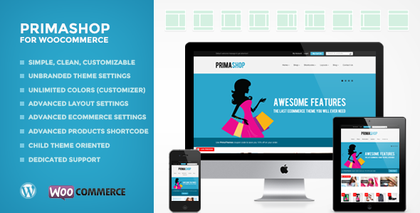 PrimaShop - Clean WooCommerce WordPress Theme - PrimaShop For WooCommerce WordPress Theme