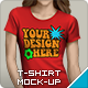 T-Shirt Mockup - GraphicRiver Item for Sale
