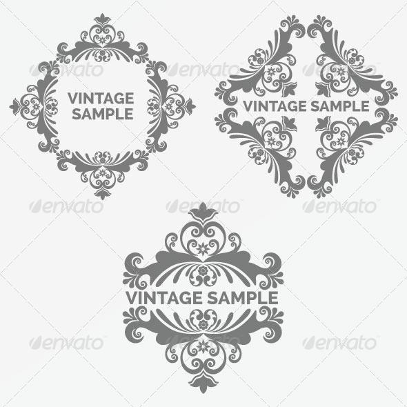 GraphicRiver Vintage Frame 80 6066670