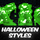 10 Halloween Styles - GraphicRiver Item for Sale
