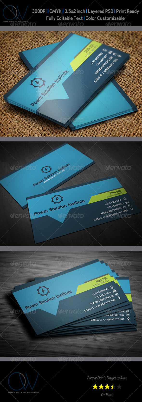 GraphicRiver Corporate Business Card Vol.40 6066949