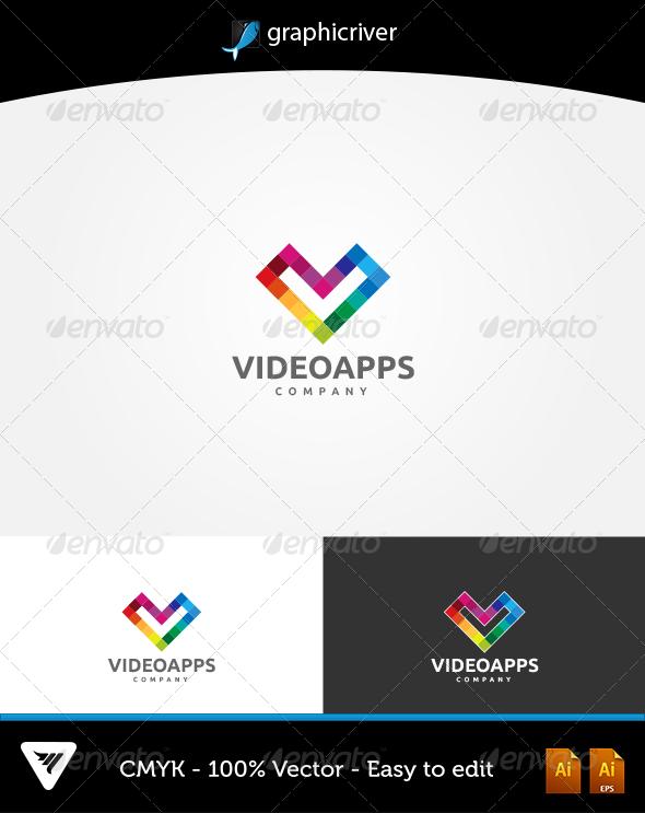 GraphicRiver VideoApps Logo 6067834