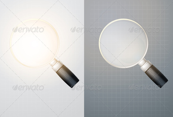 GraphicRiver Magnifying Glass Illustration 6068426