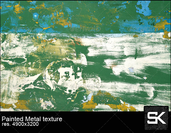 GraphicRiver Painted Sheet Metal 6068566