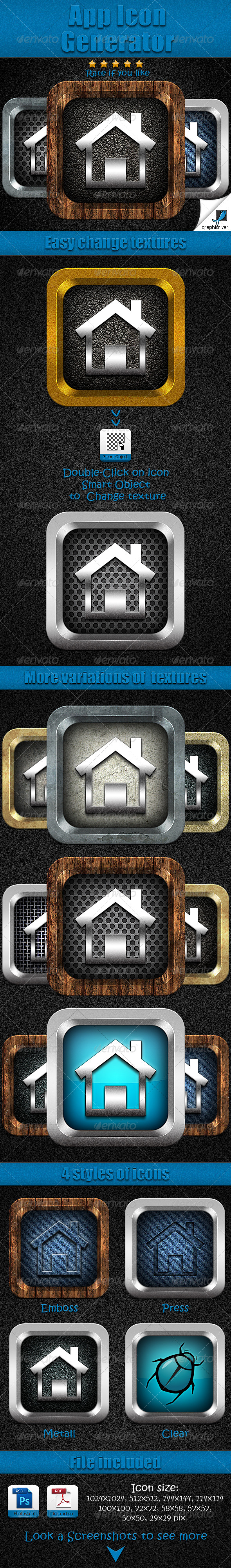 GraphicRiver App Icon Generator 6031556