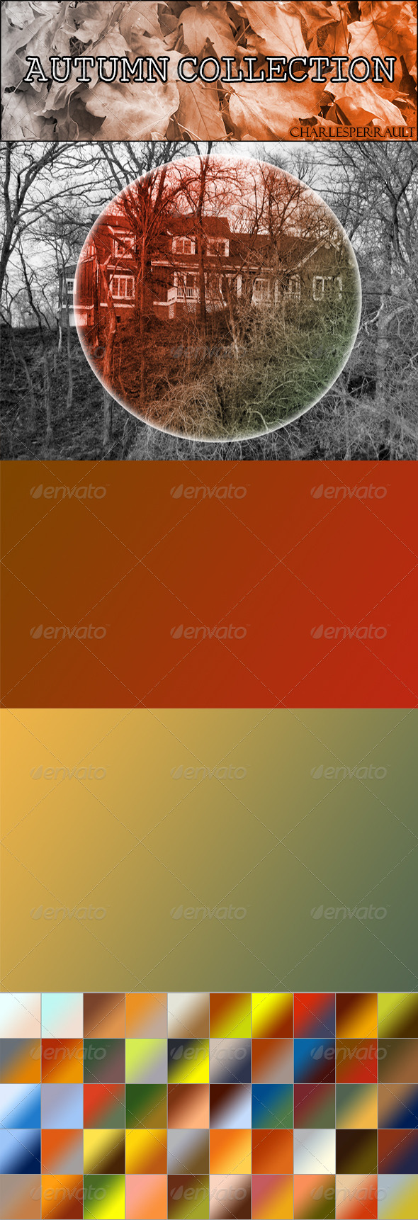 GraphicRiver 50 Autumn Gradients 6069416