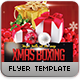 Christmas Boxing Flyer Template - GraphicRiver Item for Sale
