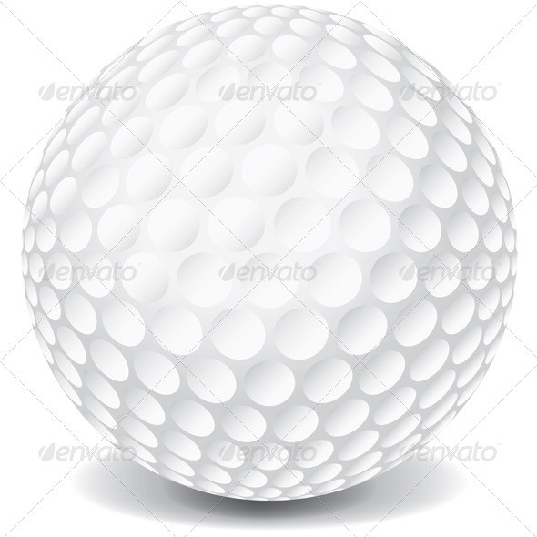 GraphicRiver Vector Golf Ball 6070484