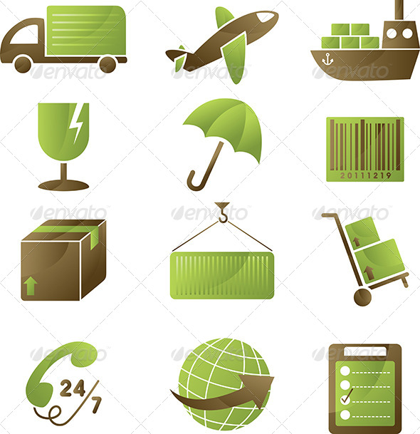GraphicRiver Shipping Icons 6070581