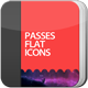 Passes Flat Icons - GraphicRiver Item for Sale