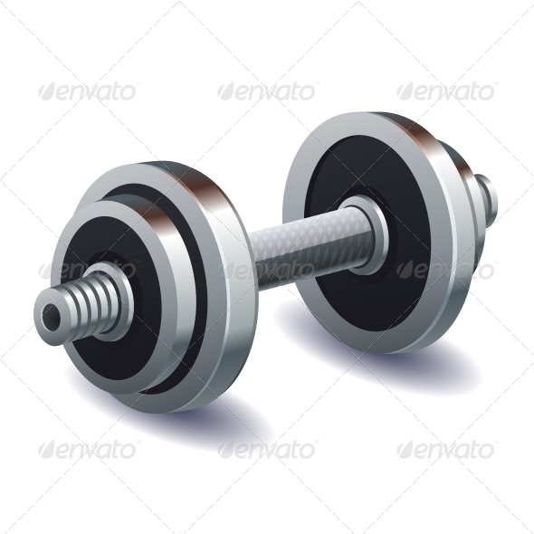 GraphicRiver Dumbbell 6071852