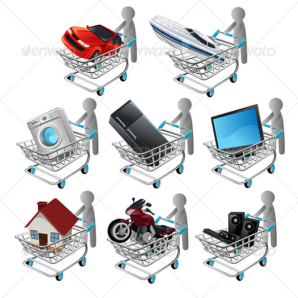 GraphicRiver Shopping 6072104